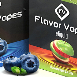 FlavorVapes packaging