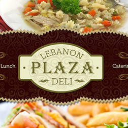 Lebanon Plaza web design
