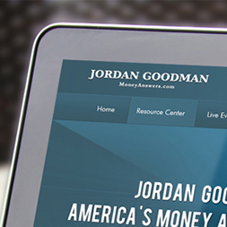 Jordan Goodman web design